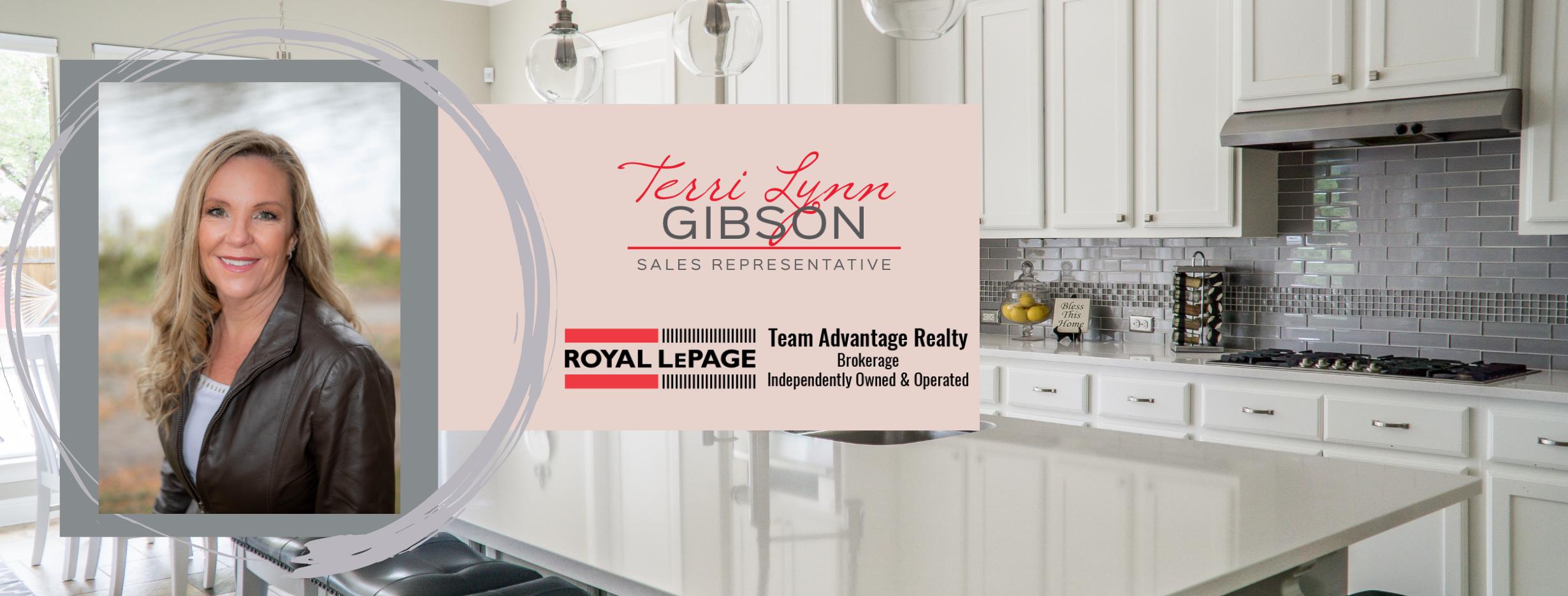 photo of kitchen with terrilynn gibson logo